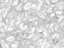 Low poly texture Royalty Free Stock Photos