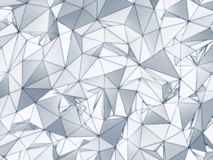 Low poly texture Royalty Free Stock Image