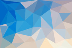 Low Poly Triangular Abstract Background Stock Images