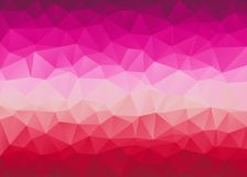 Low Poly triangular background. Stock Photography