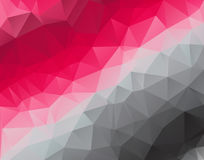 Low Poly triangular background for your flayer, brochure, poster background. Stock Photography