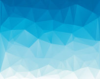 Low Poly triangular background for your flayer, brochure, poster background. Stock Photo