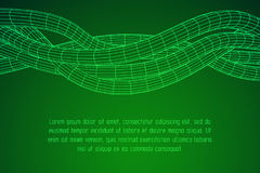 Low poly vein or wire wireframe mesh background. Stock Photo
