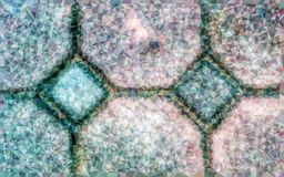 Low polygon abstract pattern royalty free stock photo