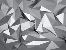 Low polygon background stock image