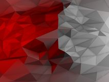 Low Polygon Detailed Abstract Shapes Background Royalty Free Stock Image
