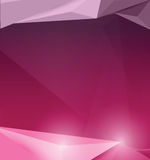 Low polygon pink and purple background vector design. Low polygon pink and purple background vector design Stock Photography