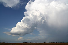 Low Precipitation Supercell Stock Image