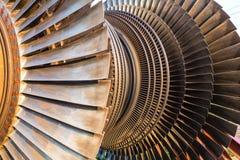 Low pressure turbine. Stock Photos