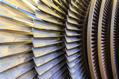 Low pressure turbine. Royalty Free Stock Photos