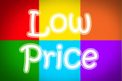 Low Price Concept Royalty Free Stock Image