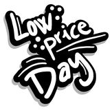 Low price day Royalty Free Stock Image