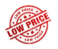 Low price rubber stamp illustration Stock Photo