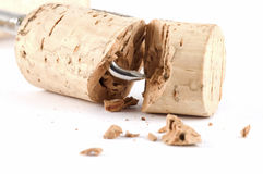 Low quality cork Royalty Free Stock Image