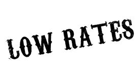 Low Rates rubber stamp Stock Photography
