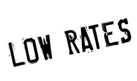 Low rates stamp Royalty Free Stock Images