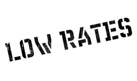 Low rates stamp Stock Photography