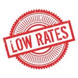 Low rates stamp Royalty Free Stock Image