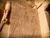 Low-relief, Abu-Simbel Royalty Free Stock Image