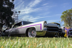 Low Rider Cadillac Royalty Free Stock Images