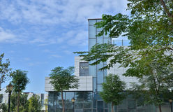 Low rise office building Stock Images