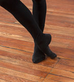 Low Section Of Ballet Trainer Performing On Floor Stock Photos