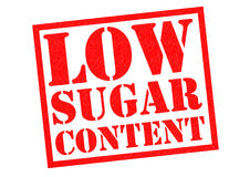 LOW SUGAR CONTENT Royalty Free Stock Photos