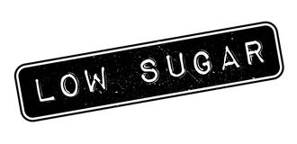 Low Sugar rubber stamp Stock Image