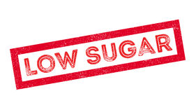 Low Sugar rubber stamp Royalty Free Stock Photos