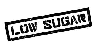 Low Sugar rubber stamp Stock Photography