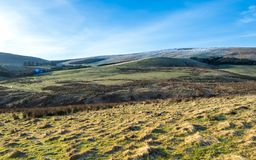 Late afternoon walk in the Pentlands Royalty Free Stock Image