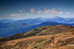 Low Tatras main ridge with its highest peak, Slovakia Royalty Free Stock Photo