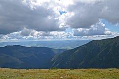 Low tatras mountain. Beautiful view of low tatras mountains in slovakia royalty free stock photo