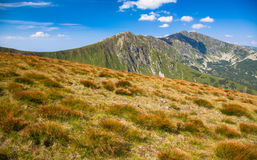 Low Tatras mountains Royalty Free Stock Photos