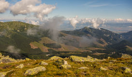 Low Tatras. Mountains in Slovakia Royalty Free Stock Images