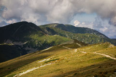 Low Tatras. Mountains in Slovakia Stock Photography