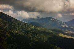 Low Tatras. Mountains in Slovakia royalty free stock photo