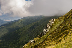 Low Tatras. Mountains in Slovakia stock photo