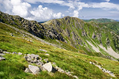 Low Tatras mountains, Slovakia Royalty Free Stock Photos