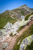 Low Tatras mountains, Slovakia Stock Image