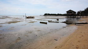 Low tide Royalty Free Stock Images