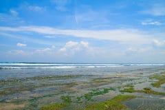Low tide on Balangan beach Stock Photos