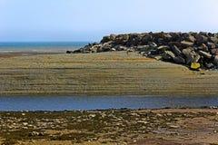 Low Tide Bay Fundy Coast Alma Stock Photos