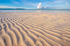 Low tide at beach, Philippines Stock Photos