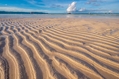 Low tide at beach, Philippines Royalty Free Stock Photo