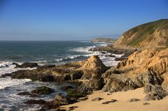 Low Tide at Bodega Head Stock Photography