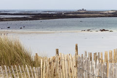 Low tide in Brittany Royalty Free Stock Images