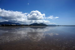 Low tide at Cairns Royalty Free Stock Photography