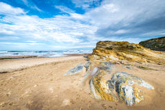 Low tide in the Cantabrian Sea Royalty Free Stock Photography