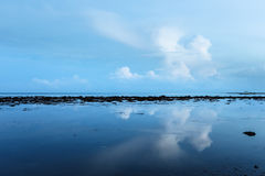 Low tide and early morning Royalty Free Stock Photos